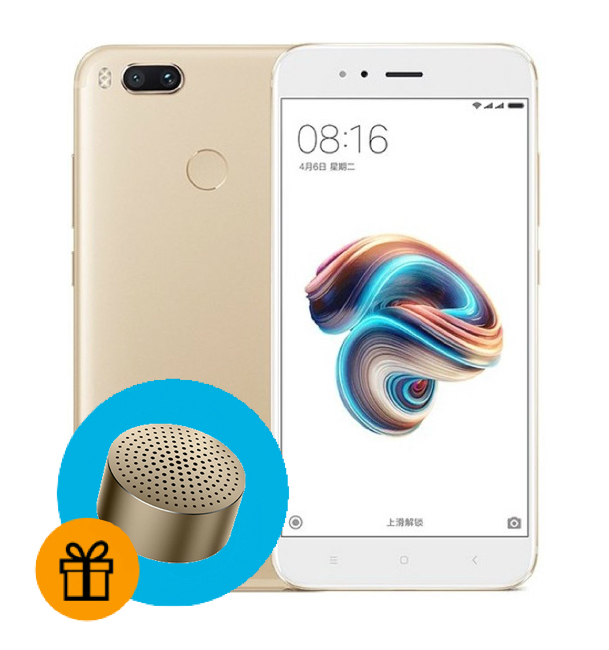 4812a554baf4a Xiaomi Mi A1 64GB Gold купить в Челябинске