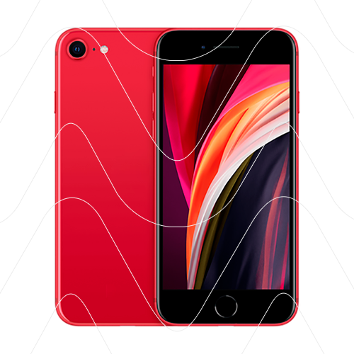 Apple iPhone SE (2020) 128Gb Red (РСТ)