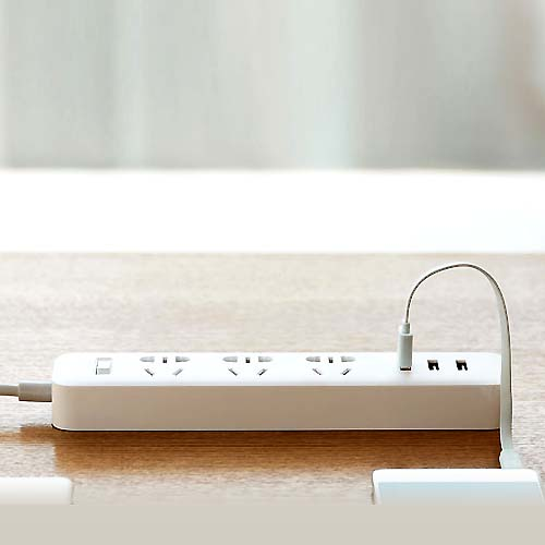 Сетевой фильтр Xiaomi Mi Power Strip 3 Sockets/3 USB ports