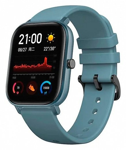Умные часы Xiaomi Amazfit GTS Blue (Global Version)