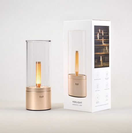 Ночник Xiaomi Yeelight Smart Atmosphere Candela Light Gold