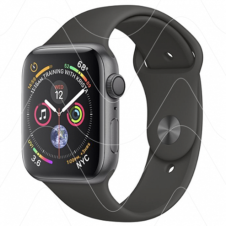 Часы Apple Watch Series 4 GPS 40mm Space Gray Aluminum Case with Black Sport Band