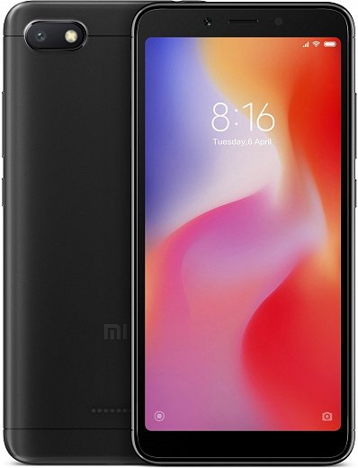 Xiaomi Redmi 6A 16Gb+2Gb Black