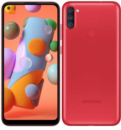 Смартфон Samsung Galaxy A11 2/32Gb Red