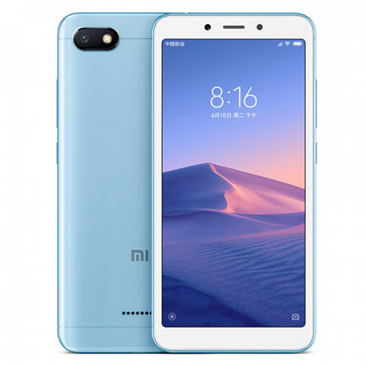 Xiaomi Redmi 6 64Gb+4Gb Blue (EU Global)
