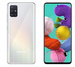 Смартфон Samsung Galaxy A51 6/128 Gb White