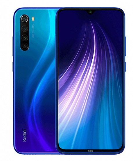 Смартфон Xiaomi Redmi Note 8 4/64 Gb Blue (EU)