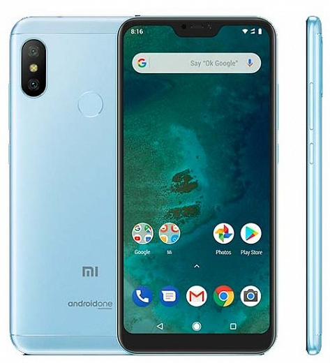 Смартфон Xiaomi Mi A2 Lite 3/32GB Blue (EU Global)